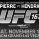 UFC167  St-Pierre vs. Hendricks